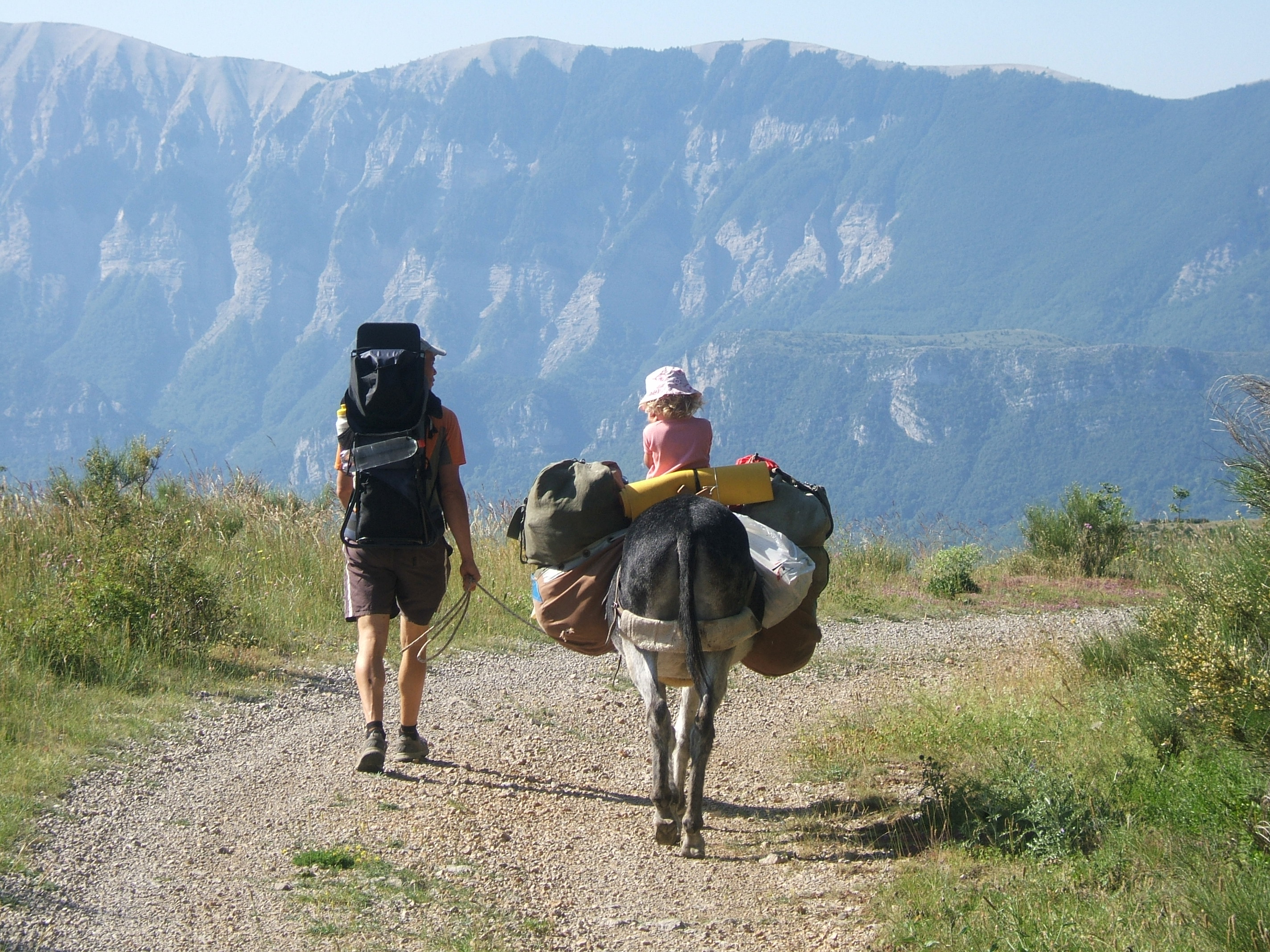 dans les Alpes provençales avec Hirondelle